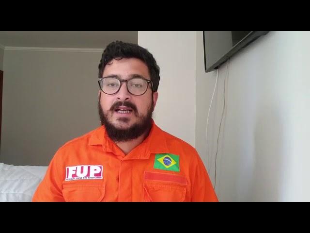 Felipe Grubba informa sobre as medidas de prevenção ao coronavírus na Transpetro