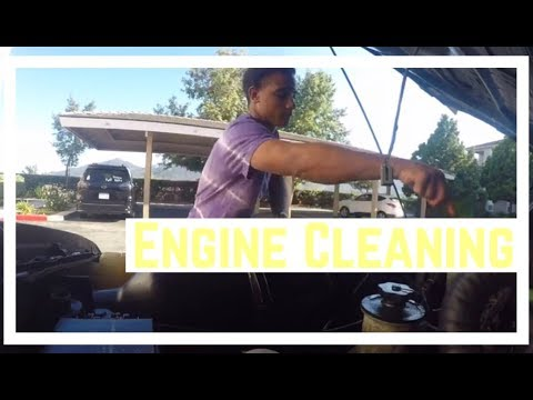 How to clean a Grimy Engine Bay 🤮