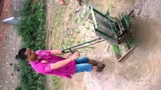 2 row manual rice transplanter