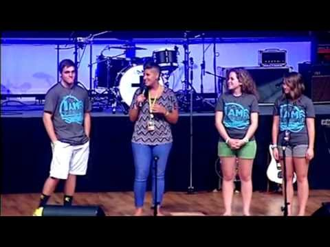 Sarah Knepper interview Operation Barnabas students at Momentum 2013