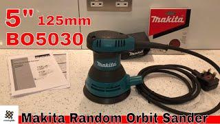 """Makita BO5030 5"""" 125mm Random Orbit Sander"""