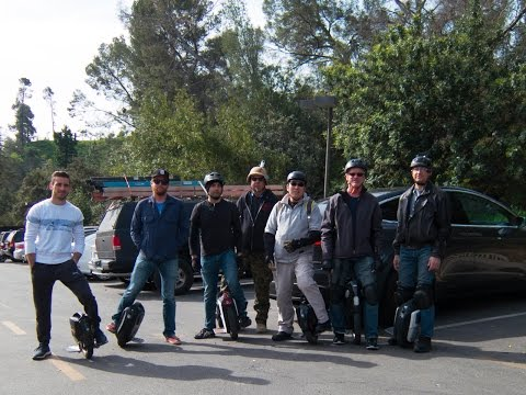 Large Group Ride Around Griffith Park  on 04Mar2017