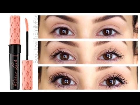 4d8454a21a4 Benefit Roller Lash Mascara First Impression Review - YouTube