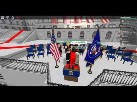 President (Roblox United States) Benjamin Crawford Inaugural Address #1