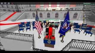 Präsident (Roblox Vereinigte Staaten) Benjamin Crawford Antrittsrede #1