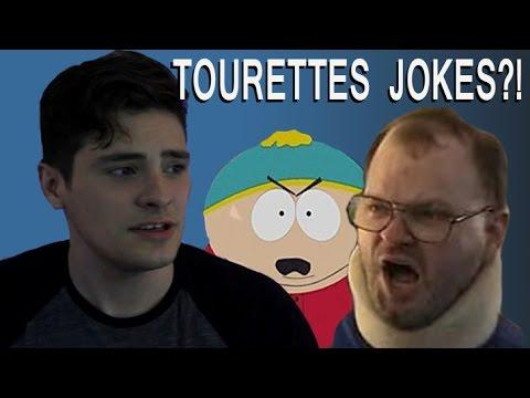 TOURETTES JOKES | Guy With Tourettes Responds