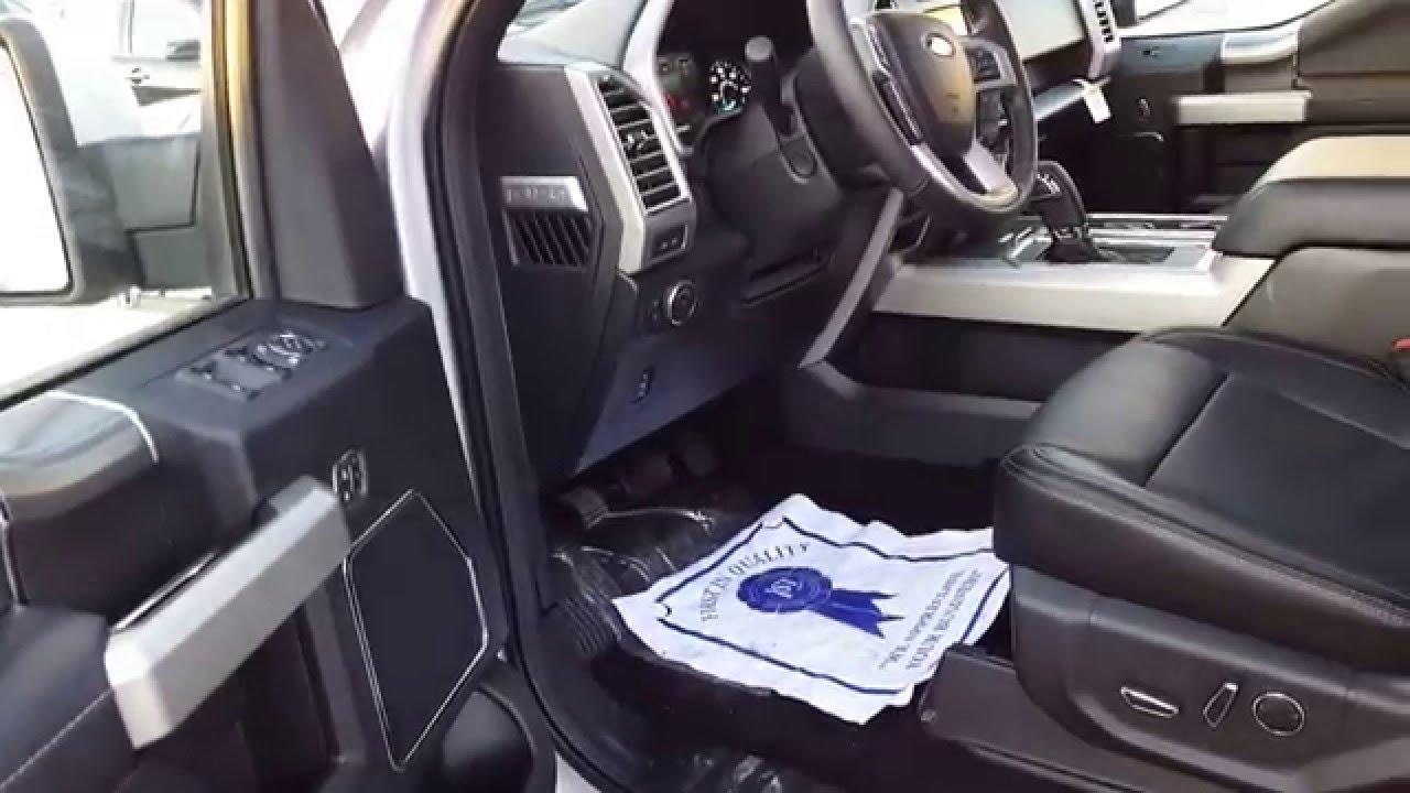 Glenn Ford 2016 Ford F 150 Lariat Sport Pkg Youtube