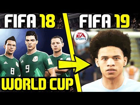 FIFA 18 World Cup NEW Face! & FIFA 19 NEW Faces News!