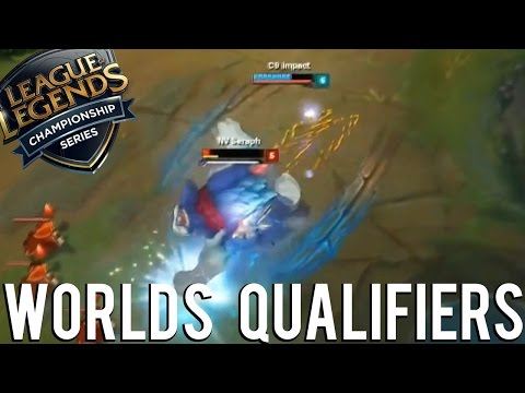 WORLD QUALIFIERS - LEAGUE OF LEGENDS (NORTH AMERICA) 2016