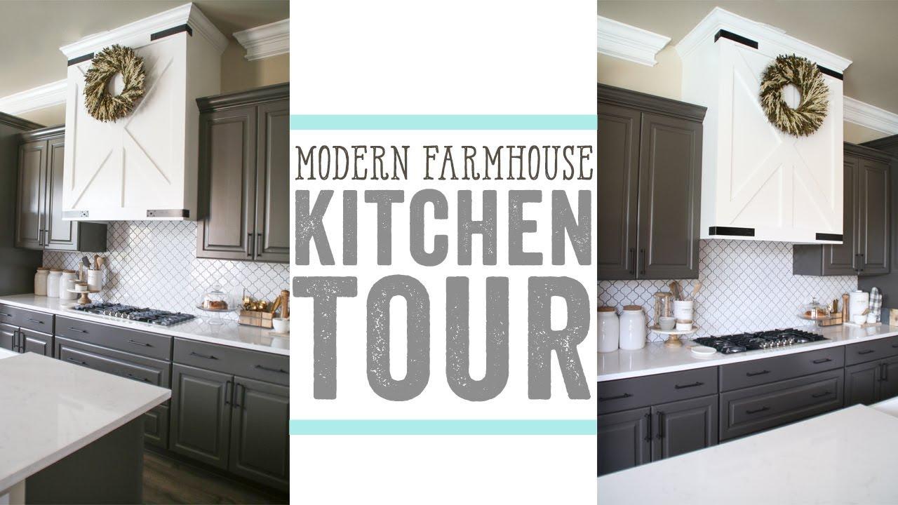 modern farmhouse kitchen tour - Modern Farmhouse Kitchen