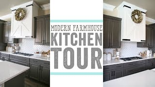 Modern Farmhouse Kitchen Tour