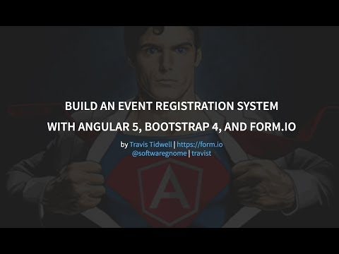 Building an Angular 5 + Bootstrap 4 application