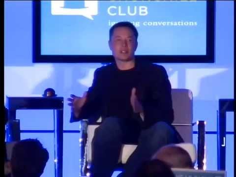 Elon Musk receives the Legendary Leader Award 2011