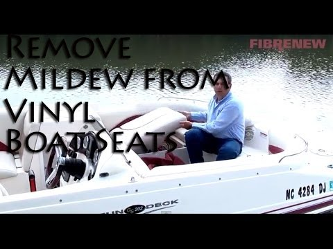 Remove Mildew From Your Boat Seats Youtube