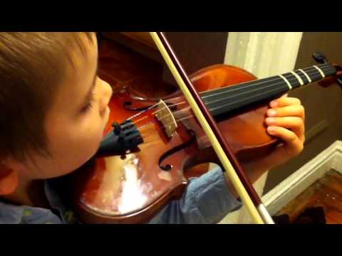 Violin lessons for kids: How to play with a bow