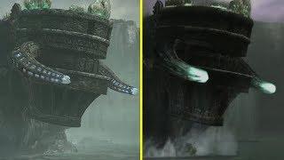 Shadow of the Colossus Remake vs Original All Collosus Cutscenes Comparison