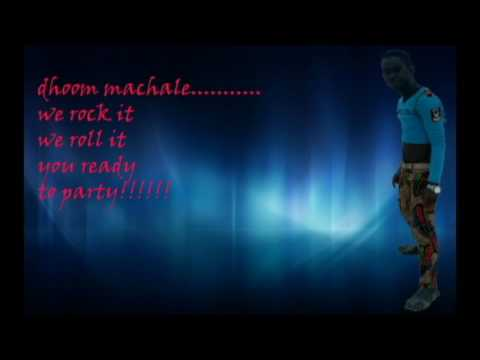 dhoom machale lyrics
