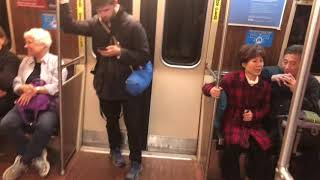 A Ride on MBTA Orange Line from Chinatown to North Station