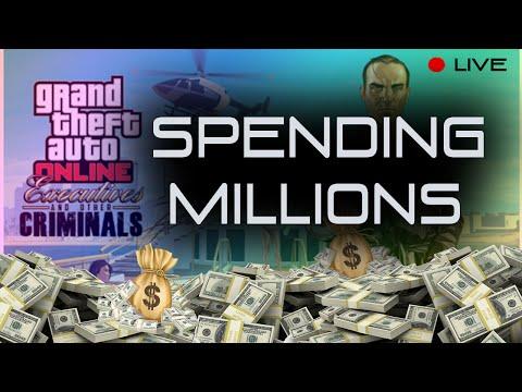 Spending Multi Millions! (GTA 5 Online Executive and Criminals)