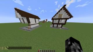 Comando - CASAS INSTANTANEAS - 1.8 Minecraft