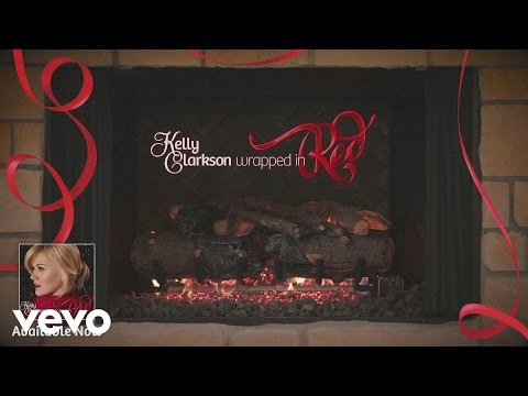 "Kelly Clarkson – Blue Christmas (Kelly's ""Wrapped In Red"" Yule Log Series)"