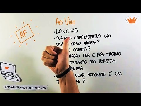 Vamos Falar Sobre Low Carb? - Ao Vivo do Facebook | Autoridade Fitness