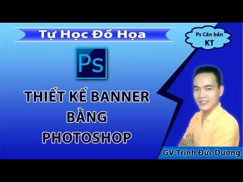 Thiết kế Banner   Hướng dẫn thiết kế Banner bằng Photoshop | Tự Học Đồ Hoạ