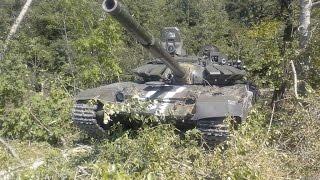 Укропитеки захватили новейший российский танк