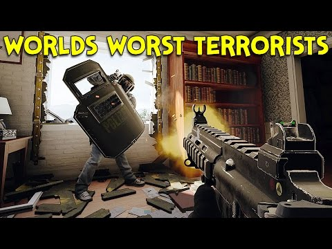 WORLDS WORST TERRORISTS? - Rainbow Six Siege