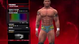 WWE 2K14 Superstar Threads Randy Orton Unforgiven 2004 Attire
