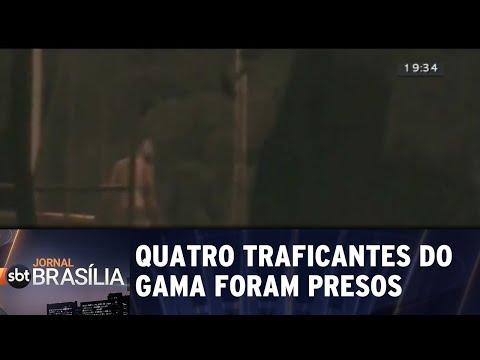 Quatro traficantes do Gama foram presos | Jornal SBT Brasília 27/07/2018