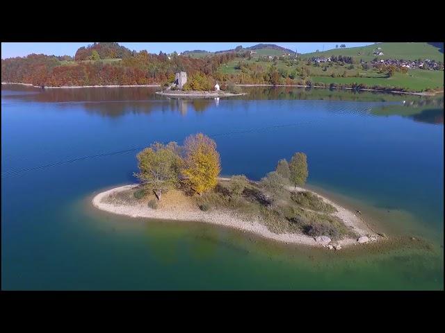 Ile d'Ogoz automne | Mavic Pro & Inspire 1 | 4K