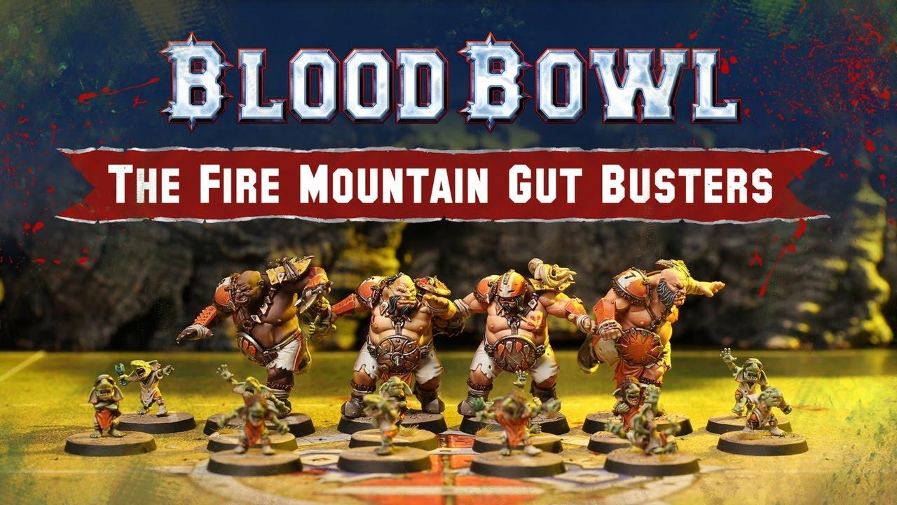 BLOOD BOWL FIRE MOUNTAIN GUT BUSTERS Vente au détails Rabiots Bitz