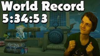Zelda: The Wind Waker HD 100% Speedrun WORLD RECORD in 5:34:53 (Most Lucky Speedrun Ever)