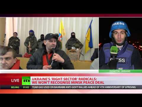 Minsk Refusal? Right Sector leader rejects Ukraine peace deal