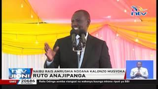 Naibu Rais William Ruto amrushia ndoana Kalonzo Musyoka