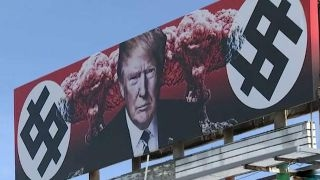 Arizona community outraged over anti Trump billboard