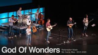 Redemption Music: God Of Wonders (We Come Alive)