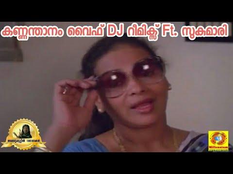 Kannamthanam's Wife Sheela Dj Remix   Sukumari   Tony Tarz   Troll Malayalam   Jishnu JV