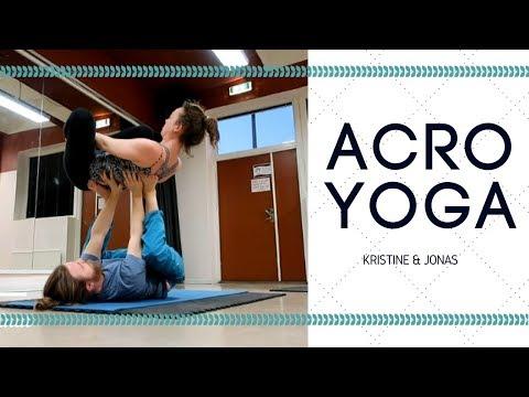 Beginner Acro Yoga - Washing Machines and Poses