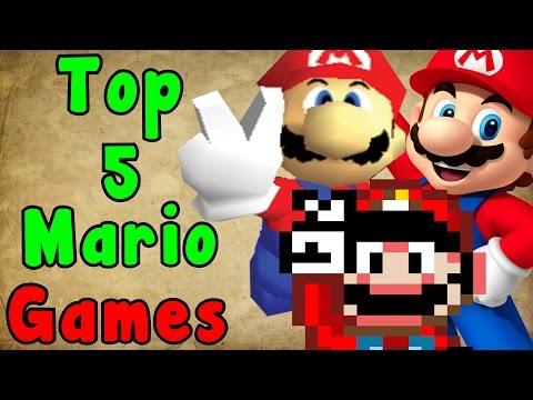 Top 5 Mario Games (Super Mario Series)