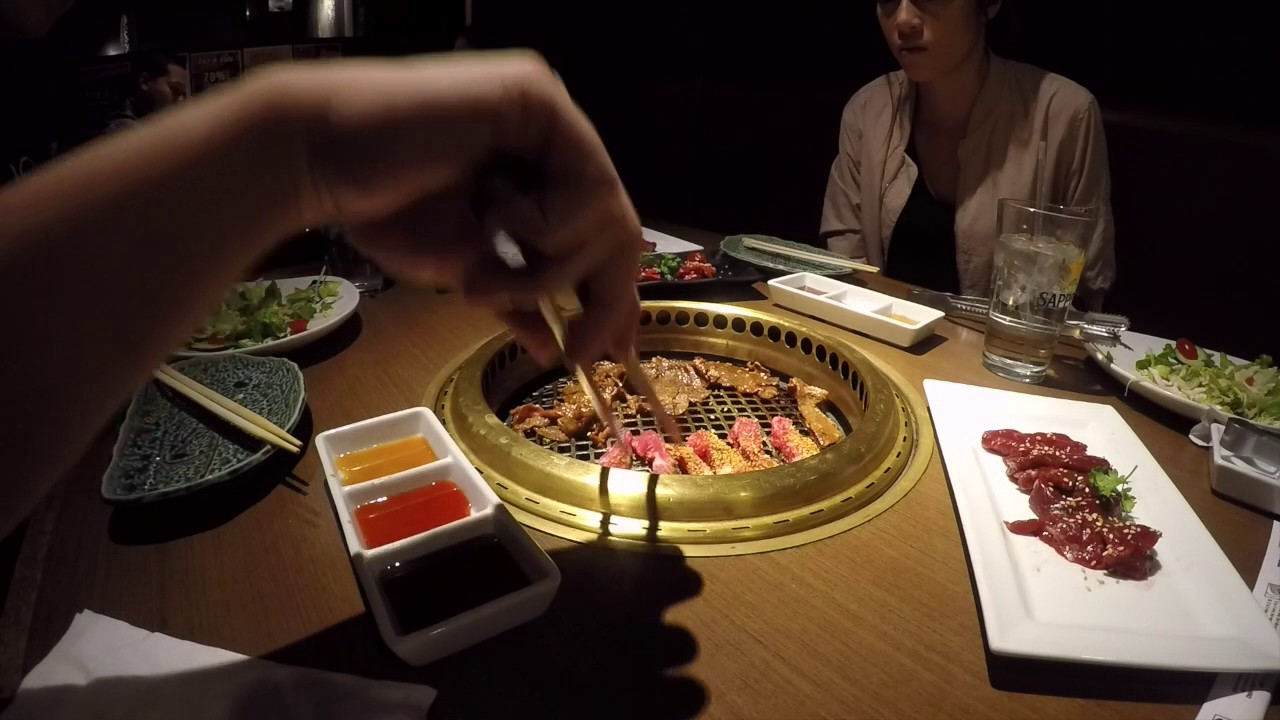 Dinner At Gyu Kaku Japanese Bbq Youtube