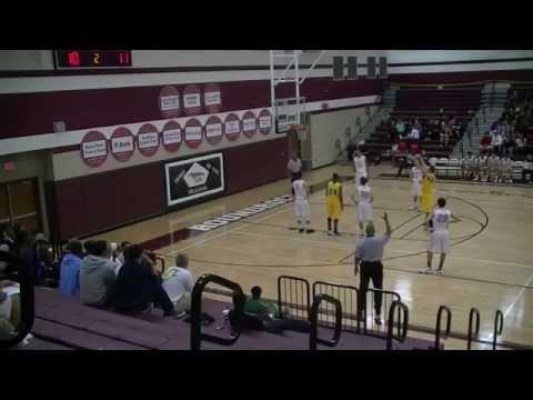 Round Rock HS vs Stony Point HS (2/12/13) - Leonard Allen (7'0/220 C)