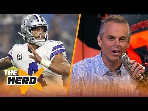 Blazin\' 5: Colin\'s picks for 2018-19 NFL Week 3 | NFL | THE HERD