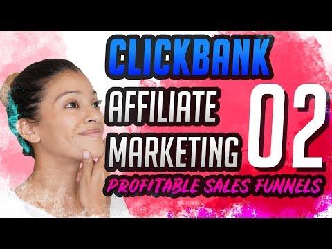 CLICKBANK Affiliate Marketing Sales Funnels – Profitable Funnels PART 2