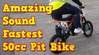 Video Amazing Sound of Fastest 50cc Dirt Bike - KTM Replica download MP3, 3GP, MP4, WEBM, AVI, FLV November 2018