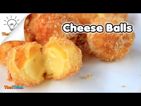 How to make cheese balls at home | Thaitrick