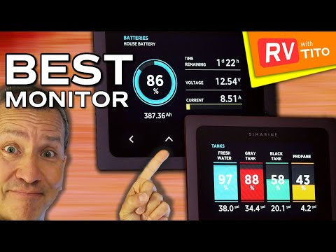 SIMARINE PICO Monitor Review and Install in RV