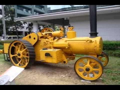 Steam Tractor & Caterpillar Pull Grader or Tow Behind Grader