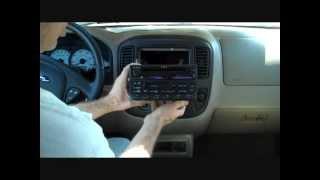 Ford Escape Stereo Removal 2001-2007